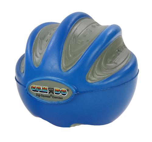 CanDo¨ Digi-Squeeze¨ hand exerciser - Small - Blue, firm