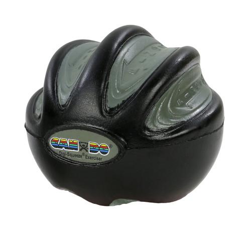 CanDo¨ Digi-Squeeze¨ hand exerciser - Small - Black, x-firm