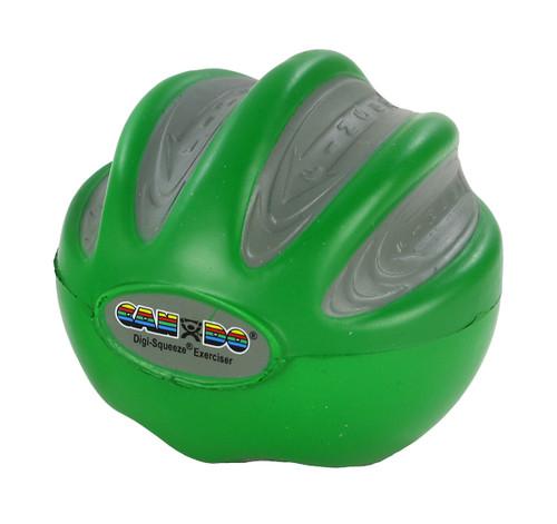CanDo¨ Digi-Squeeze¨ hand exerciser - Medium - green, moderate