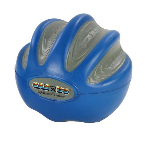 CanDo¨ Digi-Squeeze¨ hand exerciser - Medium - Blue, firm
