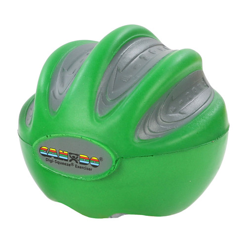 CanDo¨ Digi-Squeeze¨ hand exerciser - Large - green, moderate