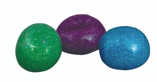 Glitter Bead Ball - Set of 3
