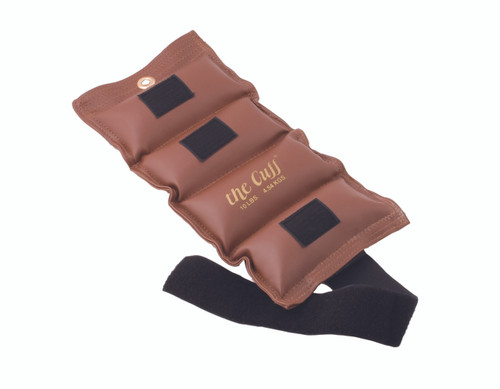 The Cuff¨ Deluxe Ankle and Wrist Weight - 10 lb - Brown