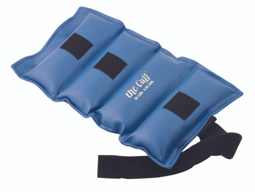 The Cuff¨ Deluxe Ankle and Wrist Weight - 20 lb - Blue