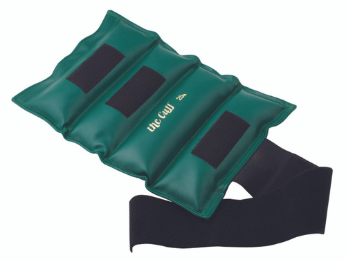 The Cuff¨ Deluxe Ankle and Wrist Weight - 25 lb - Green
