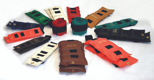 The Cuff¨ Deluxe Ankle and Wrist Weight - 24 Piece Set - 2 each .25, .5, .75, 1, 1.5, 2, 2.5, 3, 4, 5, 7.5, 10 lb