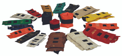 The Cuff¨ Deluxe Ankle and Wrist Weight - 32 Piece Set - 2 each .25 - 10 lb