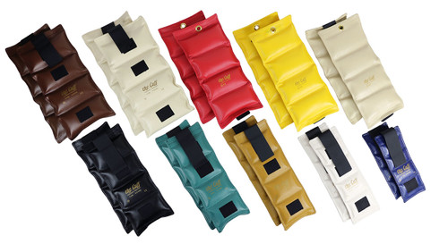 The Cuff¨ Deluxe Ankle and Wrist Weight - 20 Piece Set - 2 each 1, 2, 3, 4, 5, 6, 7, 8, 9, 10 lb