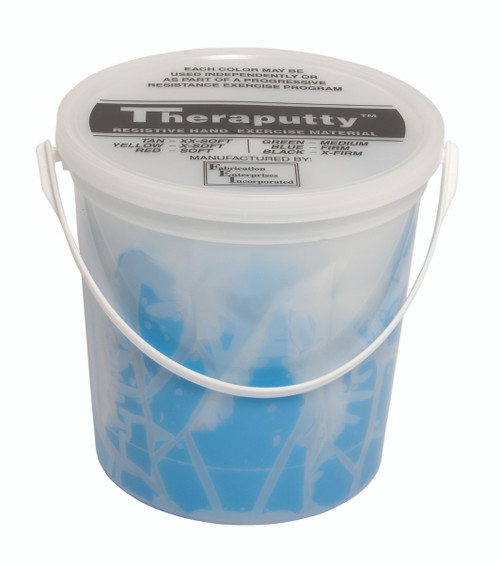 CanDo¨ Antimicrobial Theraputty¨ Exercise Material - 5 lb - Blue - Firm
