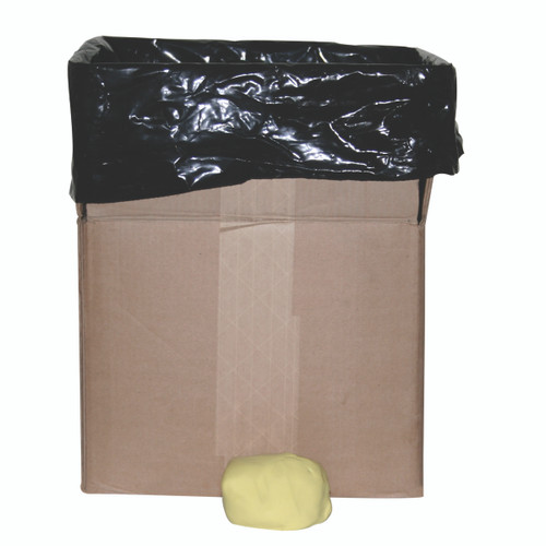 CanDo¨ Antimicrobial Theraputty¨ Exercise Material - 50 lb - Yellow - X-soft