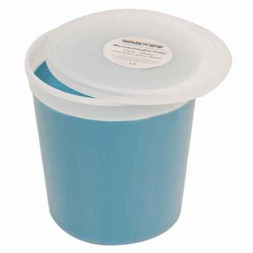 CanDo¨ Microwavable Theraputty¨ Exercise Material - 5 lb - Blue - Firm