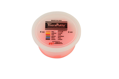 CanDo¨ Scented Theraputty¨ Exercise Material - 2 oz - Cherry - Red - Soft