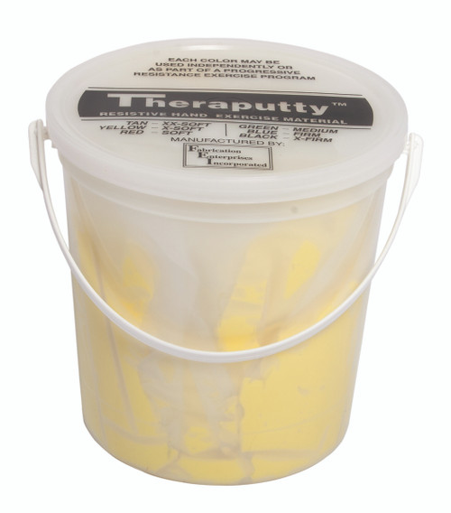 CanDo¨ Scented Theraputty¨ Exercise Material - 5 lb - Banana - Yellow - X-Soft