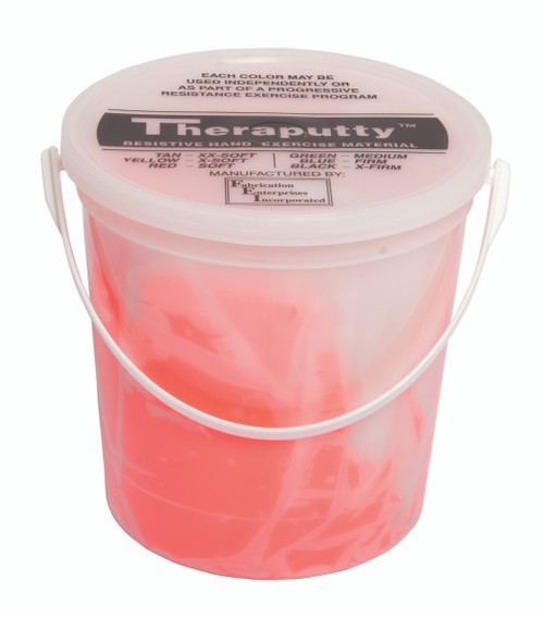 CanDo¨ Scented Theraputty¨ Exercise Material - 5 lb - Cherry - Red - Soft
