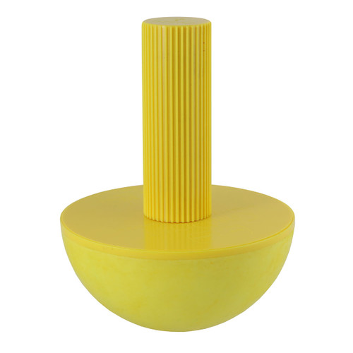 CanDo¨ Wrist/Forearm Exerciser, X-Large, Yellow, Handle and Ball