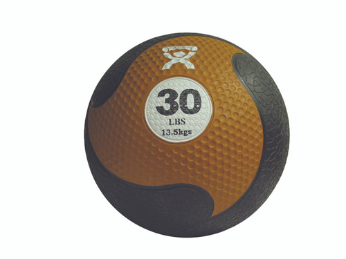 "CanDo¨ Firm Medicine Ball - 11"" Diameter - Gold - 30 lb"