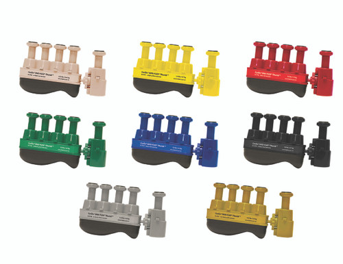 Digi-Flex Thumb¨ - Set of 8 (1 each: tan, yellow, red, green, blue, black, silver, gold)
