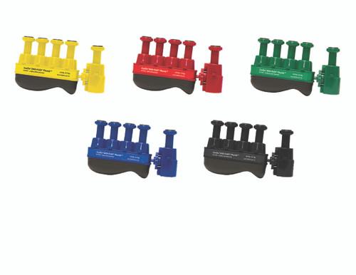 Digi-Flex Thumb¨ - Set of 5 (1 each: yellow, red, green, blue, black), no rack