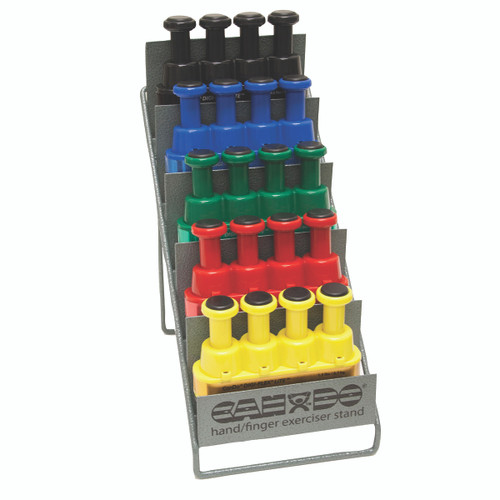 Digi-Flex LITE¨ - Set of 5 (1 each: yellow, red, green, blue, black) with Metal Stand