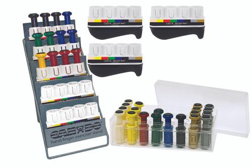 Digi-Flex Multi¨ - 8 Frame Clinic Pack - 8 Frames, 32 Buttons (4 each Yellow through Black)