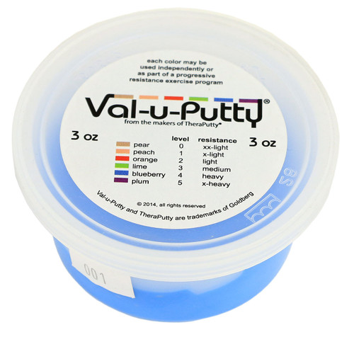 Val-u-Puttyª Exercise Putty - blueberry (firm) - 3 oz