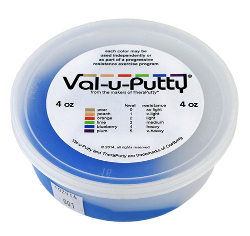 Val-u-Puttyª Exercise Putty - blueberry (firm) - 4 oz
