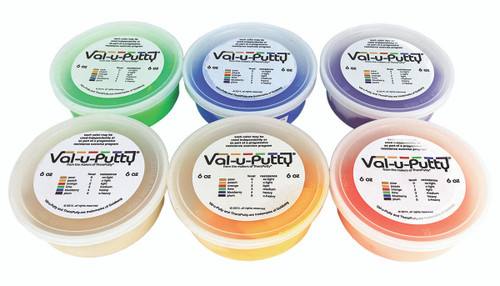 Val-u-Puttyª Exercise Putty - 6 Piece Set - 6 oz