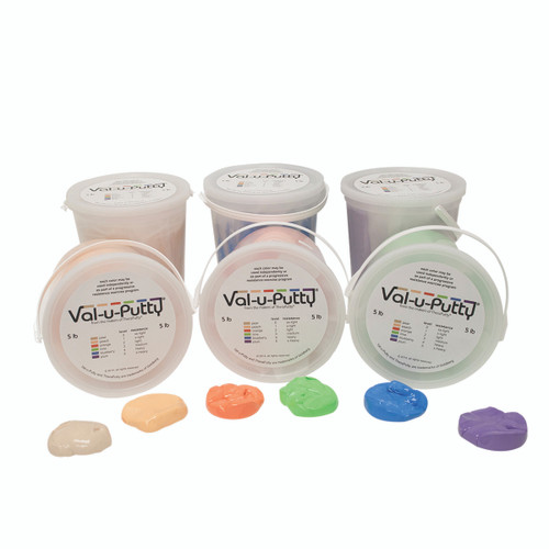 Val-u-Puttyª Exercise Putty - 6 Piece Set - 5 lb