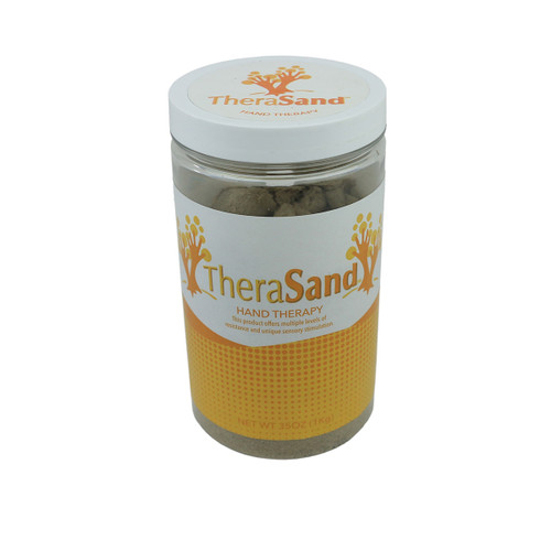 TheraSand hand therapy, 35 oz jar