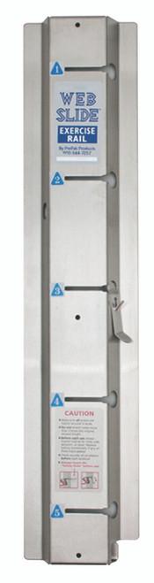 "Web-Slideª exercise rail - galvanized steel - 28"" - 1 rail"