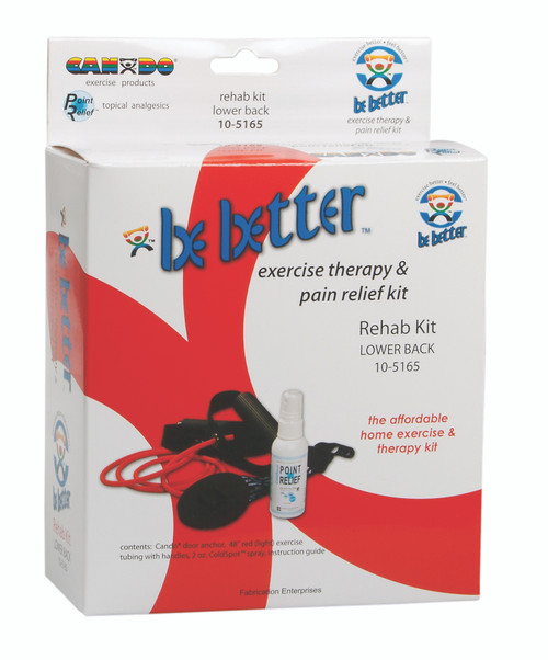 Be Better¨ rehab kit, lower back