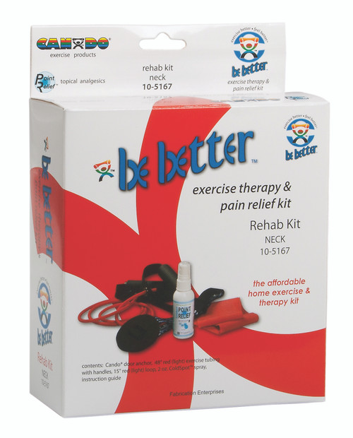 Be Better¨ rehab kit, cervical