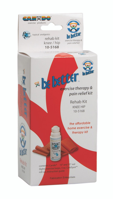 Be Better¨ rehab kit, knee and hip