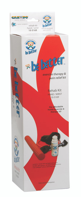 Be Better¨ rehab kit, hand and wrist