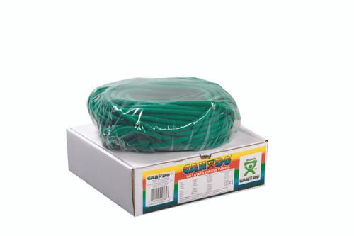 CanDo¨ Latex Free Exercise Tubing - 100' dispenser roll - Green - medium