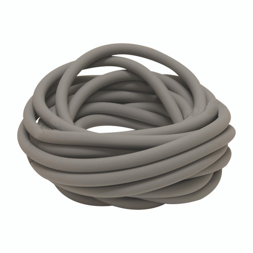 Sup-R Tubing¨ - Latex Free Exercise Tubing - 25' roll - Silver - xx-heavy