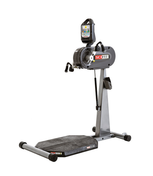 SciFit PRO1 Sport Standing Upper Body Exerciser - Adjustable Cranks with Standing Platform - No Seat