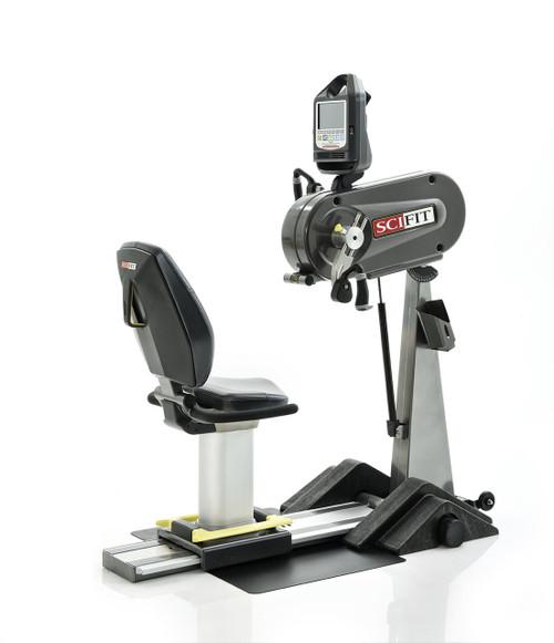 SciFit PRO1 Upper Body Exerciser - Adjustable Tilt Head & Cranks - Standard Seat - Wheelchair Platform