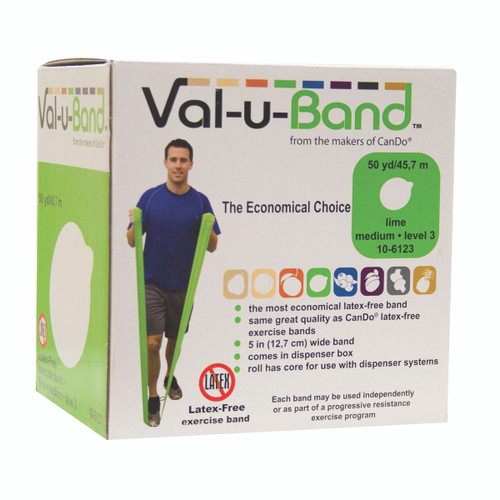 Val-u-Band¨ - Latex Free - 50 yard - lime (level 3/7)