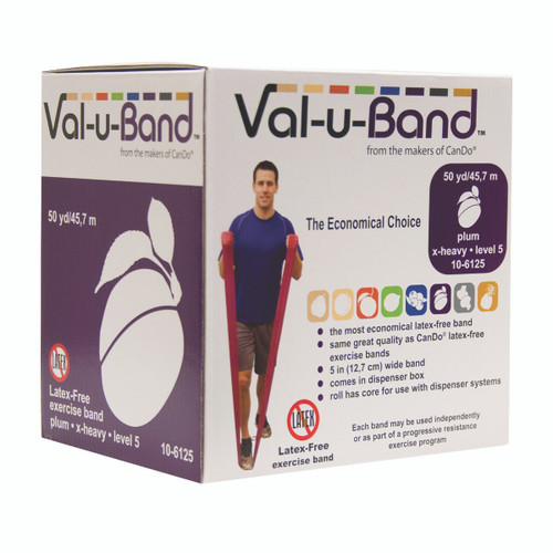 Val-u-Band¨ - Latex Free - 50 yard - plum (level 5/7)
