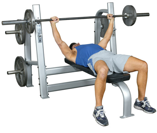 Inflight Olympic Bench with Weight Horns