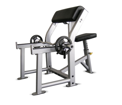 Inflight Preacher Curl Bench