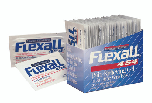 Flexall 454 Gel - 1-1/2 oz, case of 144