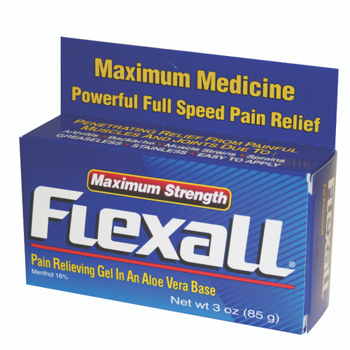 Maximum Strength Flexall 454 Gel - 3 oz bottle, case of 12