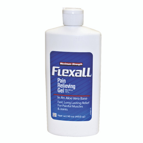 Maximum Strength Flexall 454 Gel - 16 oz bottle, case of 6