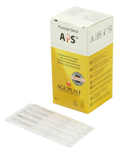 APS Dry Needling Needle, 0.30 x 40mm, White Tip, 100/Box