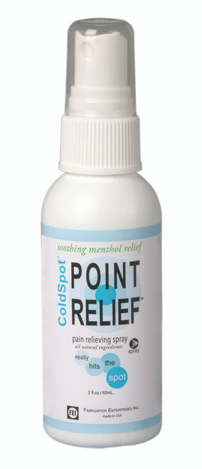 Point Relief ColdSpot Lotion - Spray Bottle - 2 oz, 12 each