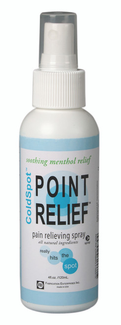 Point Relief ColdSpot Lotion - Spray Bottle - 4 oz bottle, 12 each