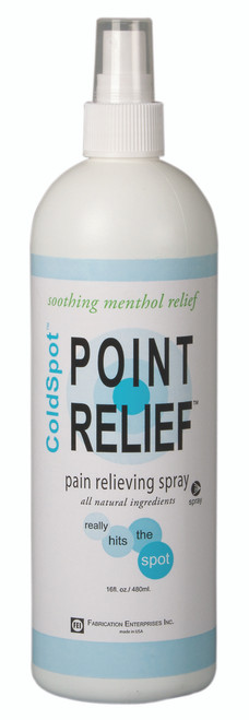 Point Relief ColdSpot Lotion - Spray - 16 oz bottle, 18 each