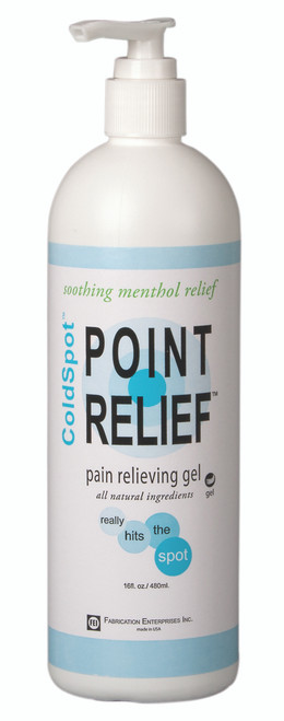 Point Relief ColdSpot Lotion - Gel Pump - 16 oz, 24 each